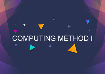 COMPUTING METHOD I